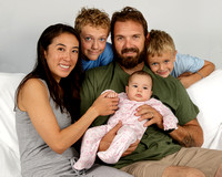 Erich and Haruka & Family Portraits